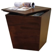 Winsome Trading Mesa Wood End Table, Brown, Each (94418WTI)