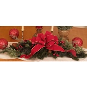 Floral Home Decor Pine and Berry Centerpiece Set