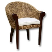 ChicTeak Banana Leaf Paris Barrel Chair