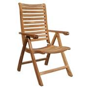 ChicTeak Italy Teak Dining Arm Chair