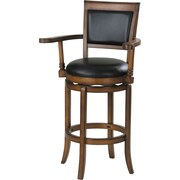 ACME Furniture Chelsea Swivel Bar Stool w/ Cushion