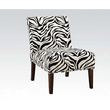 ACME Furniture Aberly Fabric Slipper Chair