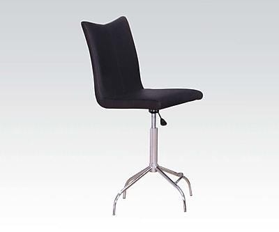 ACME Furniture Vindex Adjustable Height Swivel Bar Stool (Set of 2)