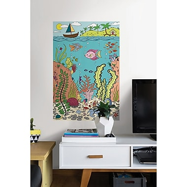 WallPops! The Reef Coloring Wall Decal