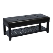 AttractionDesignHome Upholstered Storage Entryway Bench