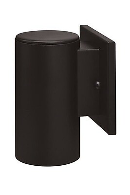 Royal Pacific 1-Light Outdoor Sconce; Black