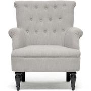 Wholesale Interiors Baxton Studio Crenshaw Tufted Arm Chair