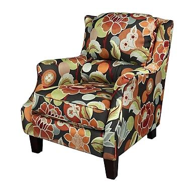Porter International Designs Zoe Floral Arm Chair