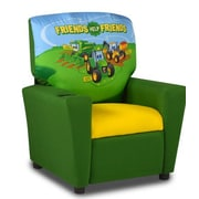 John Deere Kids Recliner w/ Cup Holder