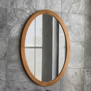 Ronbow Oval Wall Mirror; Cinnamon