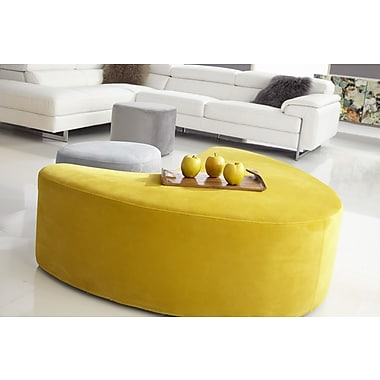 Bellini Modern Living Carmen Stool; Yellow