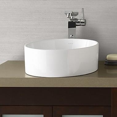 Ronbow Ceramic Circular Vessel Bathroom Sink