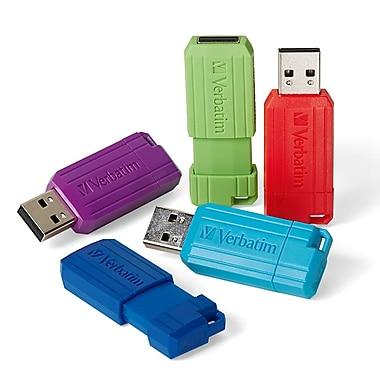 Verbatim 16GB USB 2.0 Flash Drive, Assorted Colours