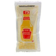 Heinz Mustard Packets, 6 ml, 500/Pack