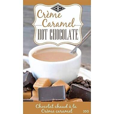 Orange Crate – Chocolat chaud à la crème caramel 35 g, OC12326, emballage-portion, 24/paquet