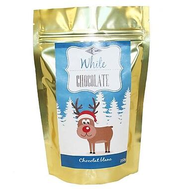 Orange Crate – Chocolat chaud au chocolat blanc 250g, OC12530, 4/paquet