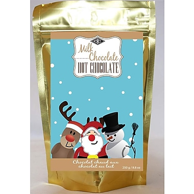 Orange Crate – Chocolat chaud au chocolat au lait 250g, OC12541, 4/paquet