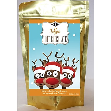 Orange Crate – Chocolat chaud au caramel au beurre 250g, OC12544, 4/paquet