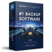 Acronis True Image 2017, Bilingual, 1-User, 1-Year Subscription