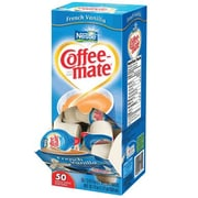Nestlé - Coffee Mate Vanille française liquide en godets, 11 ml, paq./50