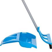 WISPsystem, 90 Degree Angle Broom with Bristle Seal Technology, Foot Operated Dustpan and Telescoping Handle (WSBL518)