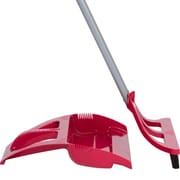 WISPsystem, 90 Degree Angle Broom with Bristle Seal Technology, Foot Operated Dustpan and Telescoping Handle (WSRD537)