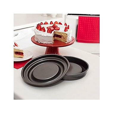 Mrs. Fields by Love Cooking Bakeware Innovations 2 Piece Round Fill N Flip and Slice N Easy Set