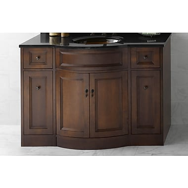 Ronbow Traditions 48'' Marcello Wood Vanity Base; Caf Walnut