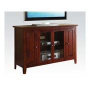 A&J Homes Studio Mike TV Stand; Cherry
