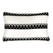 R&MIndustries Barcelona Embroidered Lumbar Pillow