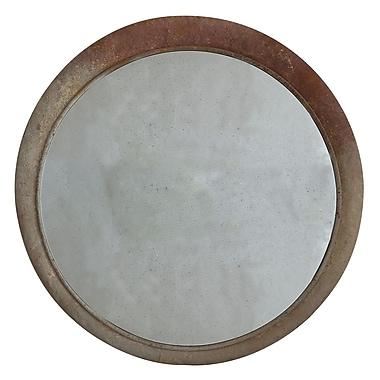 Creative Co-Op Waterside Round Metal Framed Mirror