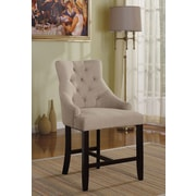 ACME Furniture Drogo Bar Stool (Set of 2); Cream