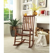 ACME Furniture Laik Rocking Chair; Cherry Oak