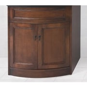 Ronbow Marcello 30'' Bathroom Vanity Cabinet Base in Caf  Walnut