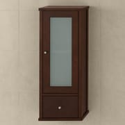 Ronbow Contemporary 10.25'' W x 34.25'' H Wall Mounted Cabinet