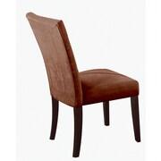 ACME Furniture Baldwin Parson Chair (Set of 2); Chocolate