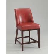 ACME Furniture Valor Bar Stool (Set of 2); Red
