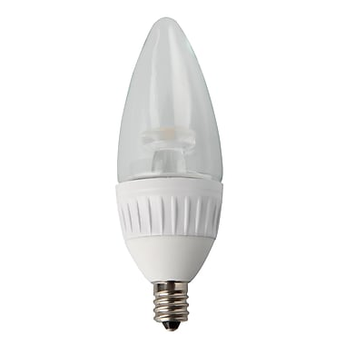 Luminance 5W White, LED B11 Light Bulbs, 10/Pack, (L7560-1/RP10)
