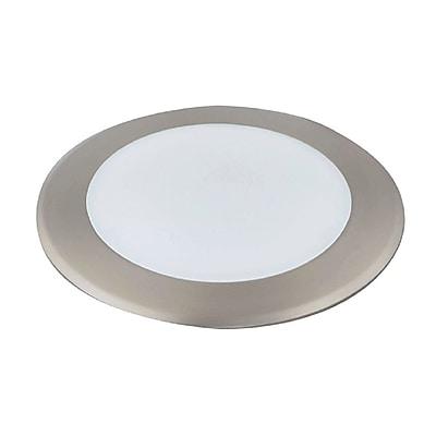 Luminance 15 Watt Satin Nickel LED Disk Light (F9908-53)