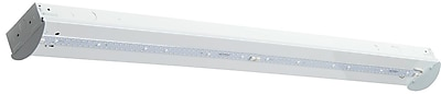 Luminance LED Integrated 4' Strip light Fixture, White (F9969-30)