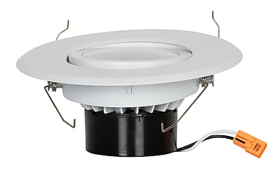 Luminance LED Retro Fit Kit Recessed Downlight, Bright Satin Nickel (F9907-30)