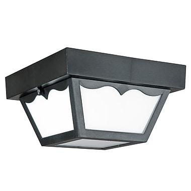Luminance LED Integrated Outdoor Flush Mount, Black (F9025-31)