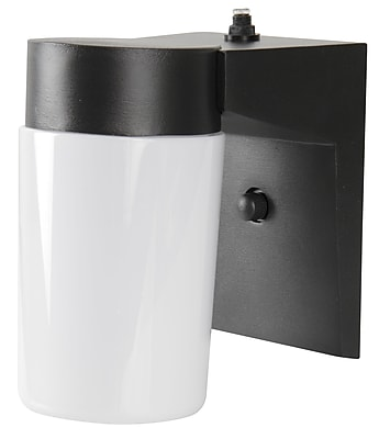 Luminance LED Integrated Cylinder Porch Fixture, Black (F9932-31)
