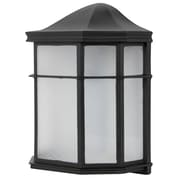 Luminance LED Integrated Mission Wall Lantern, Black (F9923-31)