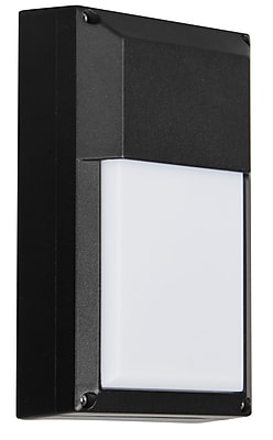 Luminance LED Integrated Wall Mount, Black (F9920-31)