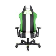 Clutch Chairz Crank Series Bravo Gaming/Computer Chair, Black Green and White