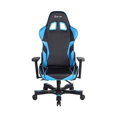 Clutch Chairz – Chaise de jeu et d'ordinateur Charlie Crank, noir et bleu