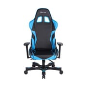 Clutch Chairz Crank Series Charlie Gaming/Computer Chair, Black and Blue