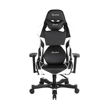 Clutch Chairz – Chaise de jeu et d'ordinateur Charlie Crank, noir et blanc