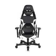 Clutch Chairz Crank Series Charlie Gaming/Computer Chair, Black and White